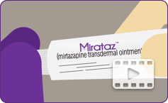 How to apply Mirataz video.